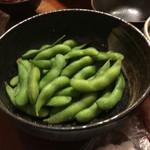 御食事処 歩成 - 枝豆
