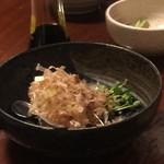 御食事処 歩成 - おぼろ豆腐