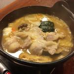 御食事処 歩成 - 料理写真:黄金ほうとう(山梨ワイン豚入り)