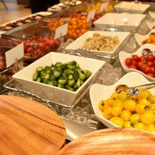 森のキッチン - 料理写真:サラダブッフェコーナー