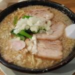 大むら食堂 - チャーシュー麺
