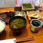 74049107 - 銀むつ柚香焼き定食¥1250