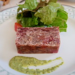 レストランオーボンコワン - ランチBコース(税込み1868円)の前菜