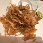 メリメロ亭 - 白魚の洋風天プラ780円
