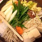 ごん兵衛 - 野菜(黒毛和牛すき焼き用)