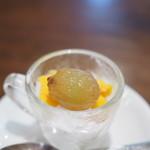 キノシタ - ココナッツとパッションフルーツのソルベ