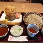 卯月 - 料理写真:かき揚げ天せいろ 1,080円税別