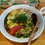 中華そば de 小松 - de小松的酸辣湯麺