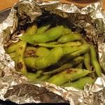 しん - 茶豆のホイル焼き