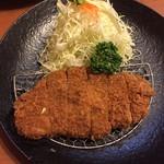 文治郎 - ロースカツ定食