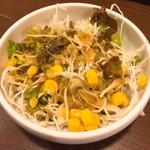 オムライス専門店 エグロン - サラダ