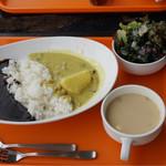 トロピカルインパーマーストン - 2食のオリジナルカレー スープサラダセット