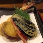 久呂無木 - 天ぷらです。