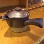 久呂無木 - そば湯の器です。