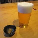 74057685 - 生ビール・お通し