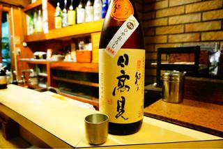 和洋酒菜 ひで - 日高見 純米 生詰 ひやおろし