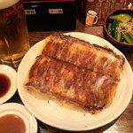 チャオチャオ - お気軽セット チャオチャオ餃子2枚 生ビール 一品 ついて 1200円 チョイ飲みにピッタリ!!