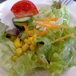 壱番館 - セットのサラダ