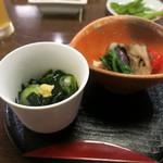 74061835 - いちのせき郷土膳(梅)前菜