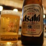 大衆割烹 京家 - 瓶ビール