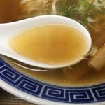 74063463 - 澄んだ醤油スープ