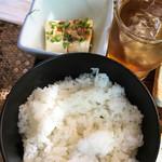 Airisu - ご飯と冷奴