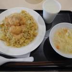 王記厨房 - 料理写真:エビマヨチャーハン¥637-