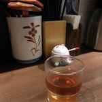 喜多一 - 内観;冷たい麦茶