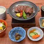 旬彩和さび - 牛サガリのステーキ御膳