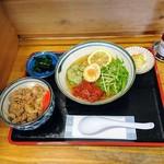 杉本商店 - 料理写真:冷麺・ミニ牛丼セット(ランチパスポート)