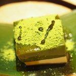 74069759 - 鯛茶漬け 3240円 の常葉 白練 抹茶と黒蜜掛け