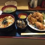 利根 - 鶏定食680円