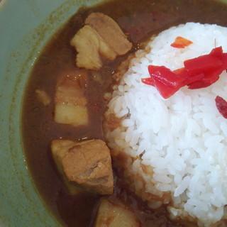 道の駅 かつやま レストラン - 料理写真:イトリキカレー(ココナッツ)700円