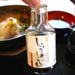 則種 - しらす丼の醤油