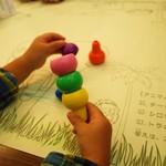 74075219 - 子供が落書きできる紙ランチョマット