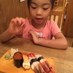大庄水産 - 5歳児の好きなお寿司