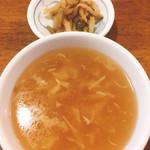 東方 - 中華スープ&搾菜^^;