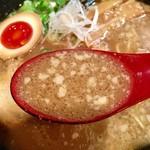 倉敷らーめん 升家 - 味わい深く旨味の濃いスープ