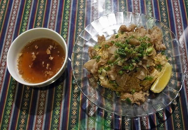 チャーハン専門店 炒飯の万博 - 肉焼炒飯 750円