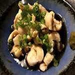 特製鶏皮ポン酢