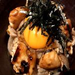 鶏炊込み玉子かけご飯