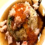 蟹と海鮮のあんかけ炒飯