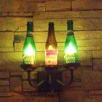 GLASS DANCE - 瓶の照明