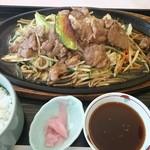 隨縁カントリークラブ 恵庭コース レストラン - 料理写真:ジンギスカン定食