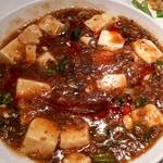 愛蓮 - 麻婆豆腐♪これが一番美味しかった♪