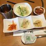 火ノ国 - 前菜&サラダ、キムチ