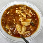 北華飯店 - 麻婆豆腐定食、680円です。
