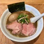自家製麺 のぼる - 京にぼ 味付け煮玉子トッピング