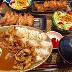 いわま餃子 - ランチ ケバブカレーセット 1,000円