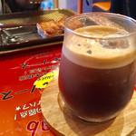 いわま餃子 - ランチ ケバブカレーセット 1,000円のアイスコーヒー